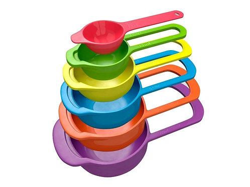 Measuring Cup Set 6 Pieces (Multicolored)