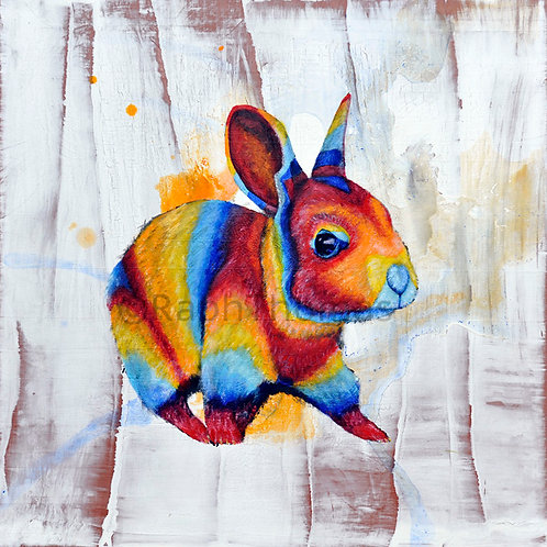 Rainbow Rabbit 1