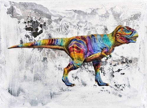 Rainbow T-Rex