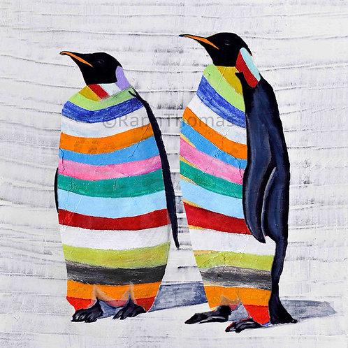 Rainbow Emperor Penguins 2