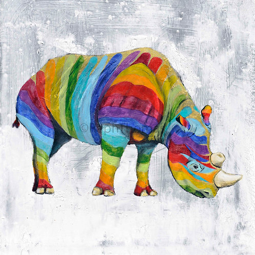 Rainbow Rhino 8