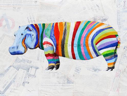 Rainbow Hippo 2