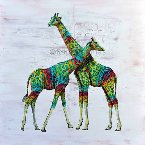 Green Spotted Giraffes 2