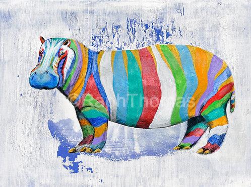 Rainbow Hippo 3