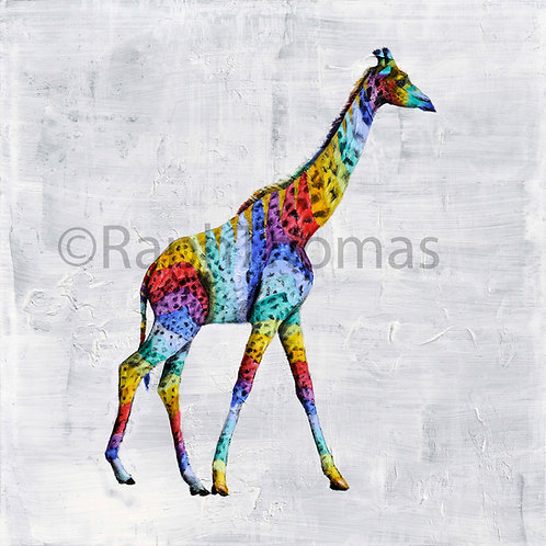 Rainbow Giraffe 1