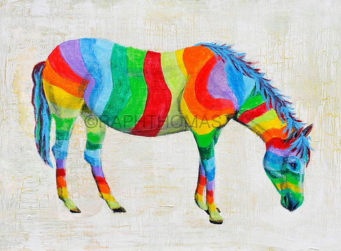 Rainbow Horse 1