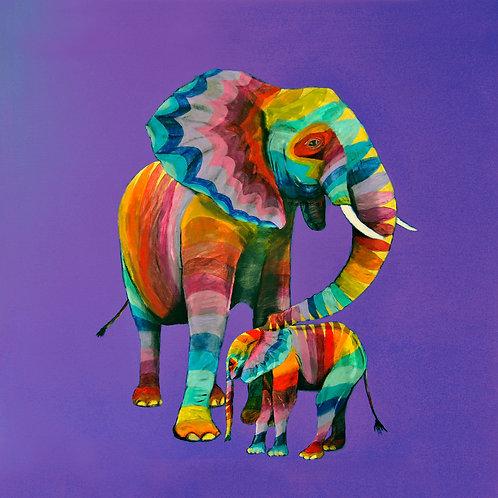 Rainbow Elephants 10