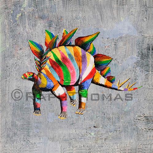 Rainbow Stegosaurus