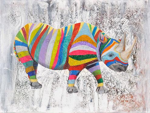 Rainbow Rhino 1