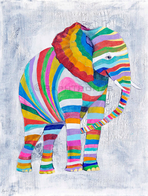 Striped Elephant 1