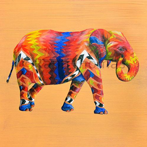 Rainbow Elephant 13