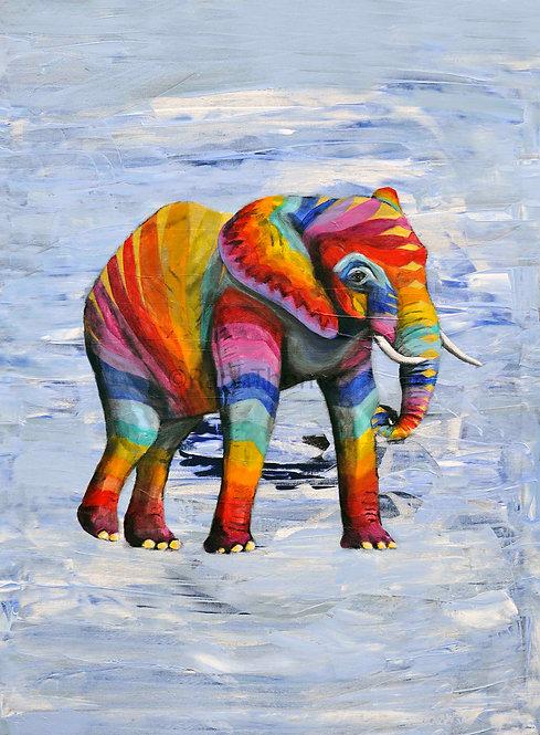 Rainbow Elephant 11