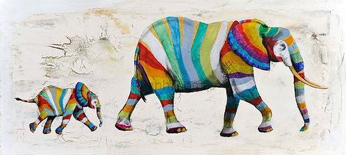 Rainbow Elephants 3