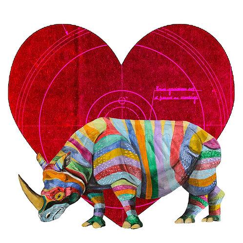 Valentines Square Rhino 1