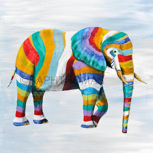 Floating Elephant