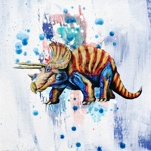 Rainbow Triceratops 1