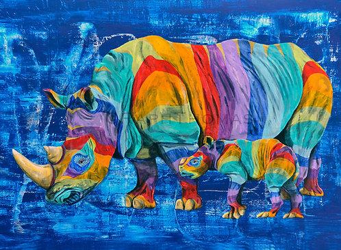 Rainbow Rhinos 11