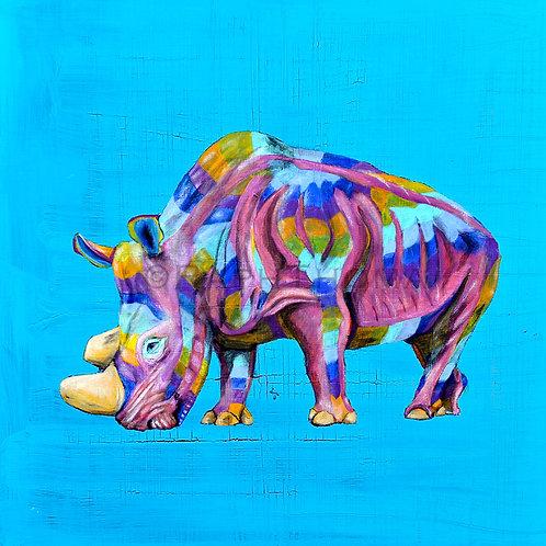 Rainbow Rhino 10
