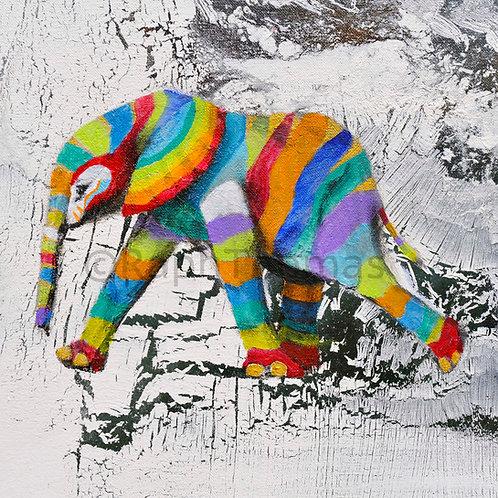 Rainbow Elephant 2 (Baby Detail)