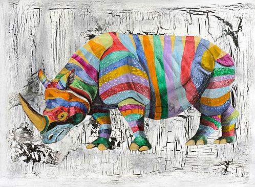 Rainbow Rhino 2