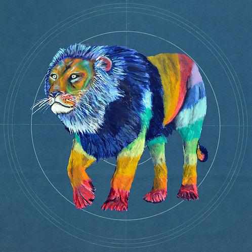 Rainbow Lion 1 on Blueprint