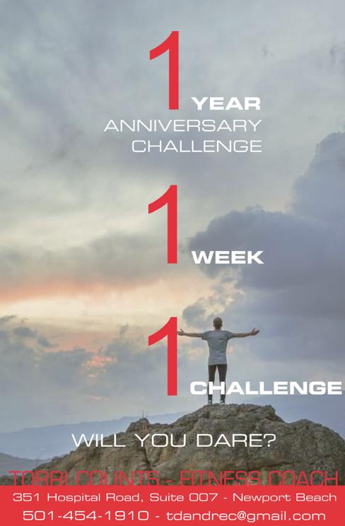 1Year Anniversary Challenge