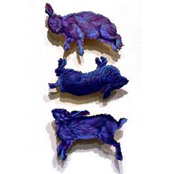 Nightshade I - III Triptych