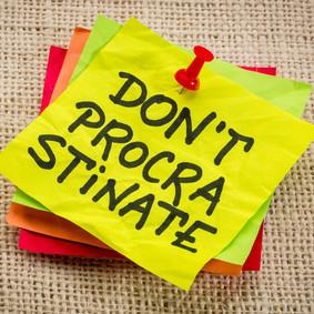 Part-time law, Full-time procrastinator