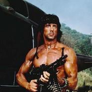 Rambo movie character