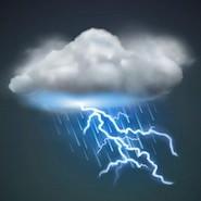 Lightening cloud