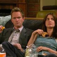 Two people eating comfort food
