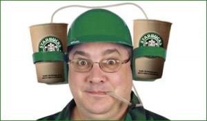 Starbucks coffee hat