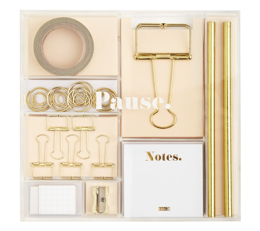 Gold stationary