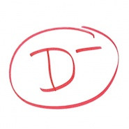 D- grade mark