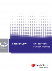 Book Review: Family Law Case Summaries, 6th Ed, ed. Duncan Holmes, 2016
