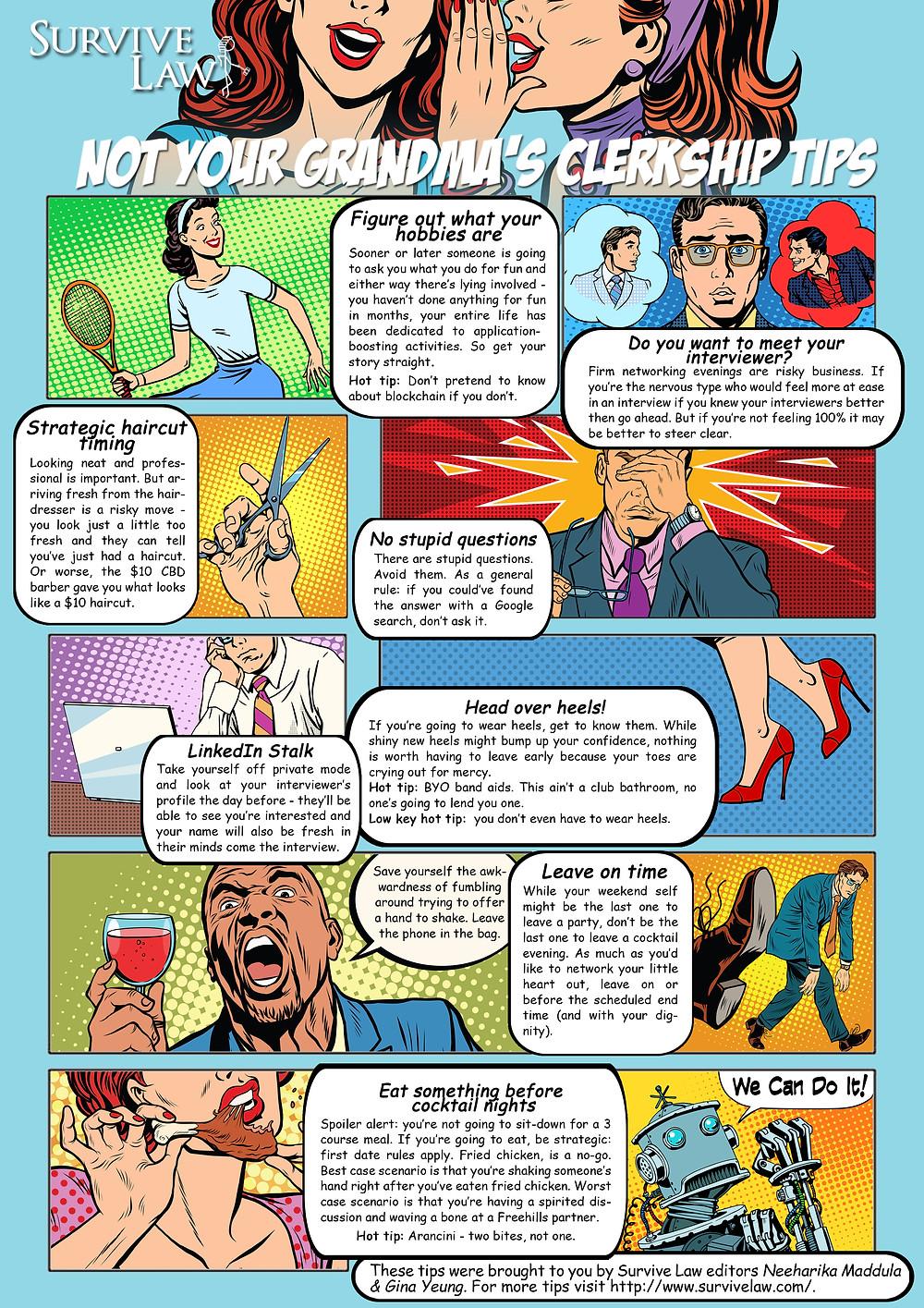 Survive Law comic