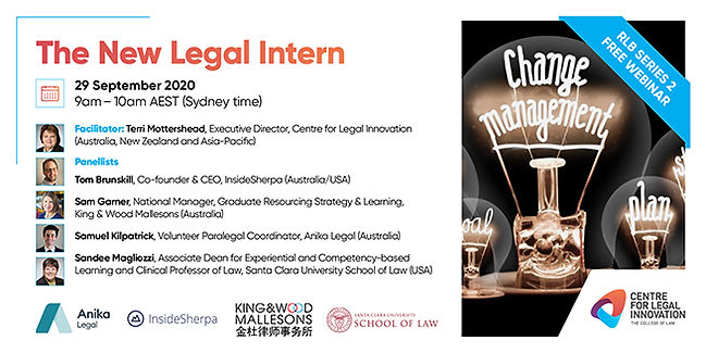 CLI The New Legal Intern Social AUG202 6