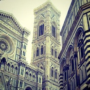 Buildings in Florence, Italy