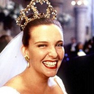 Bride with a crown