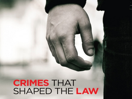 Giveaway: Crimes that shaped the law (LexisNexis)