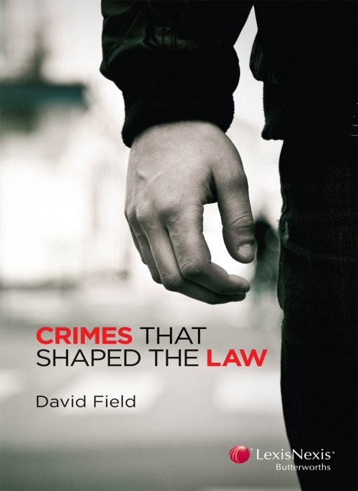 Crimes that shaped the law book cover