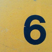 Image of the number 6