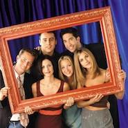 """""""Friends"""" TV show cast"""