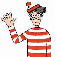 Where's Waldo cartoon