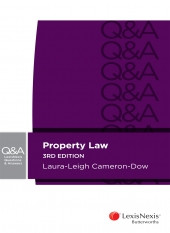 Review: LexisNexis Property Law Questions & Answers