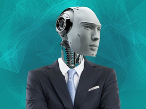 Robot in a suit