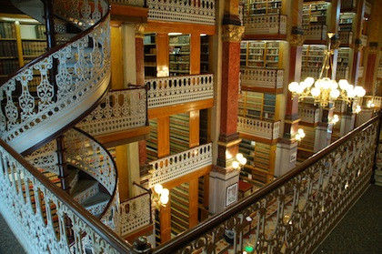 Iowa State Capitol Building Law library