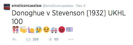 Emoticoncaselaw tweet
