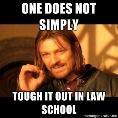 law school meme