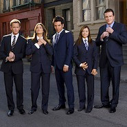 How I met your mother cast wearing suits